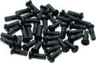 Sapim Polyax Nippel schwarz 14mm