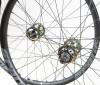 Spank Spike 33AL EVO Laufradsatz mit NOA 120 klicks Singlespeed Naben 26 Zoll