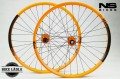 NS Bikes Enigma NS Rotary Laufradsatz Singlespeed Dirt Street orange